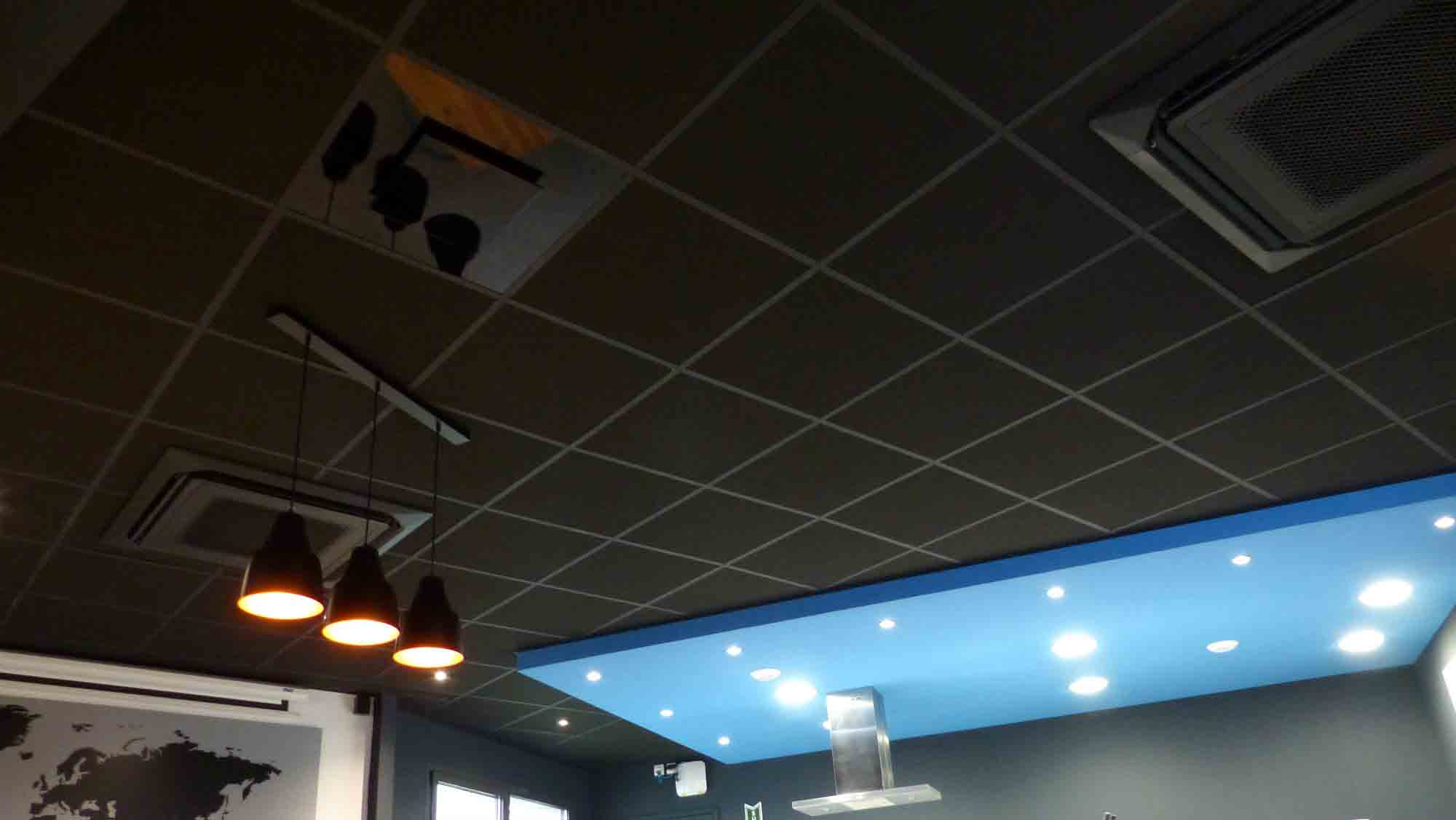 Langlois Sobreti Rennes Plafond Suspendu Palamatic 35 Brece