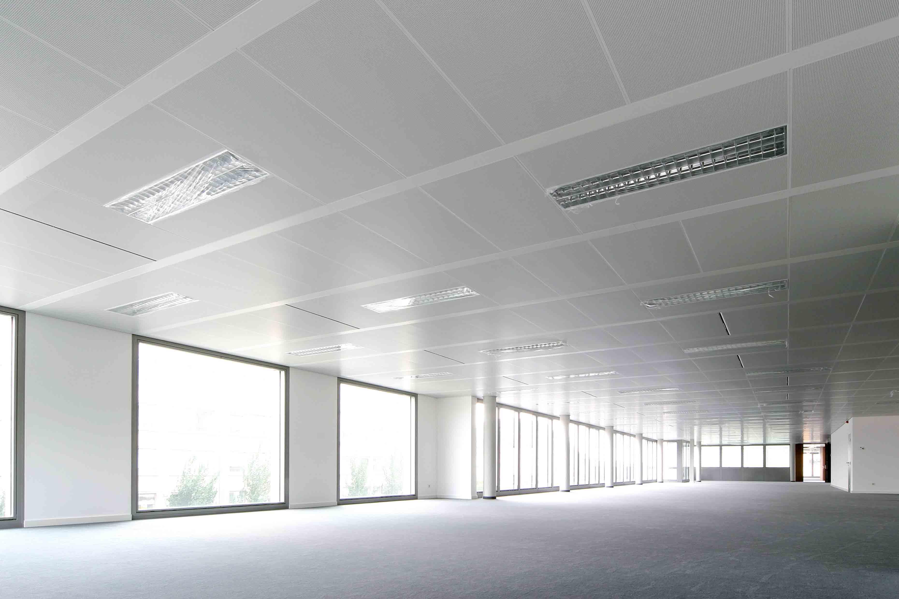 Solution rayonnante - Plafond Rayonnant - 8380 Tervueren Plaza N- Flaktgroup & Langlois Sobreti