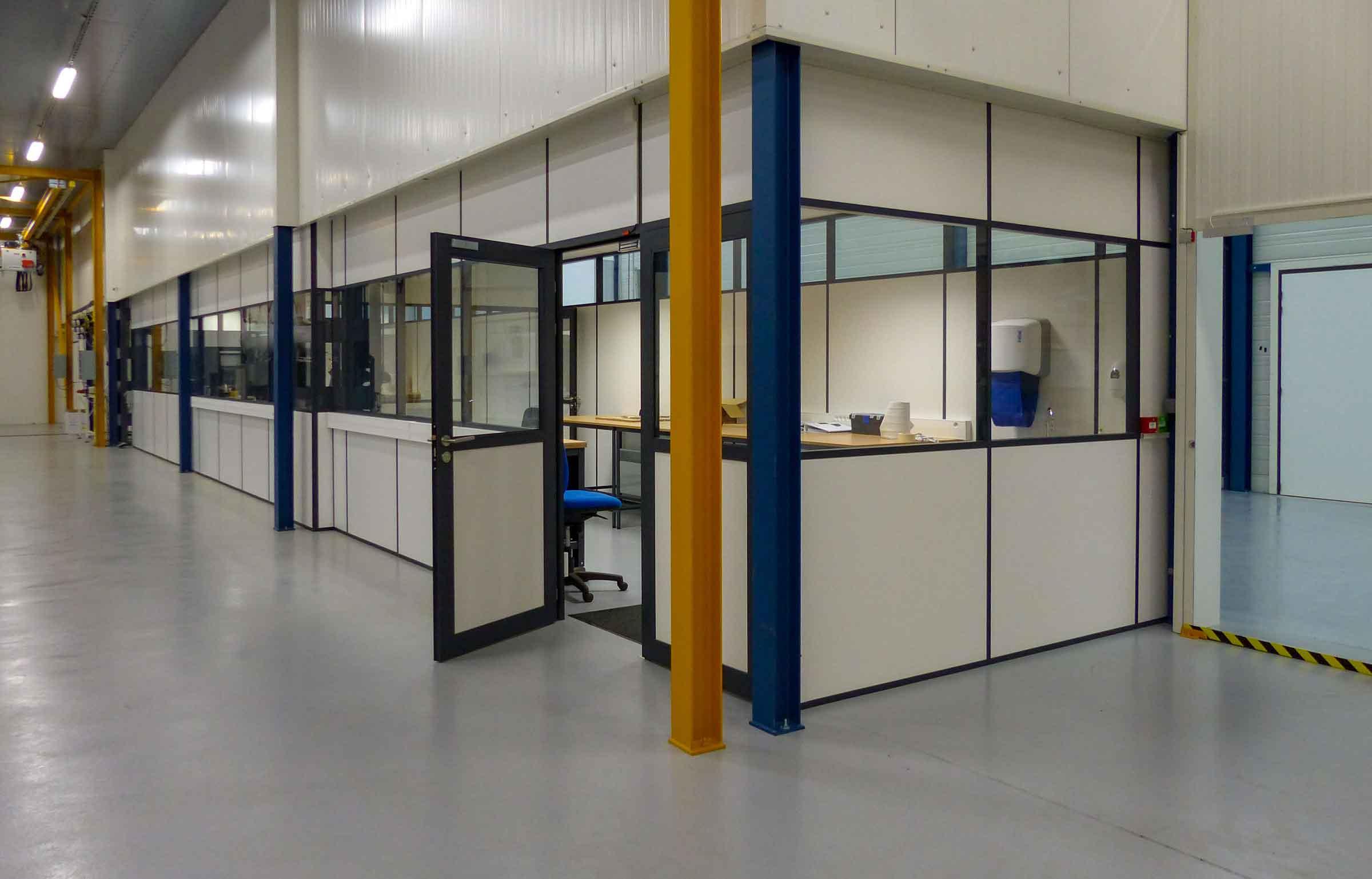 Cabine Industrielle Bureau Cholet
