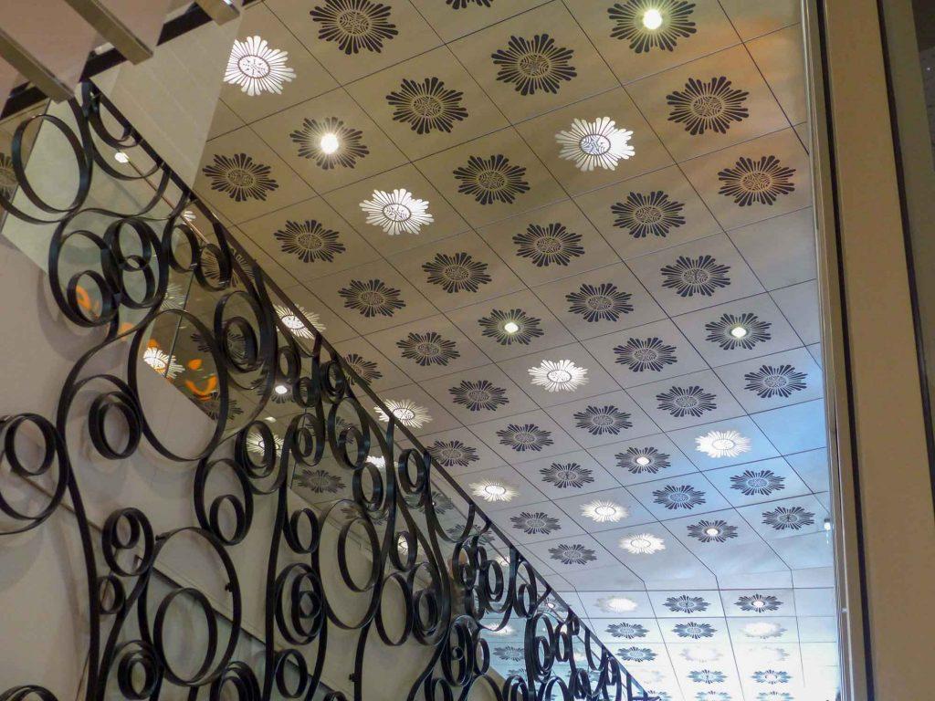 Plafond Metallique Dalle Pommeraye Nantes Langlois Sobreti 8