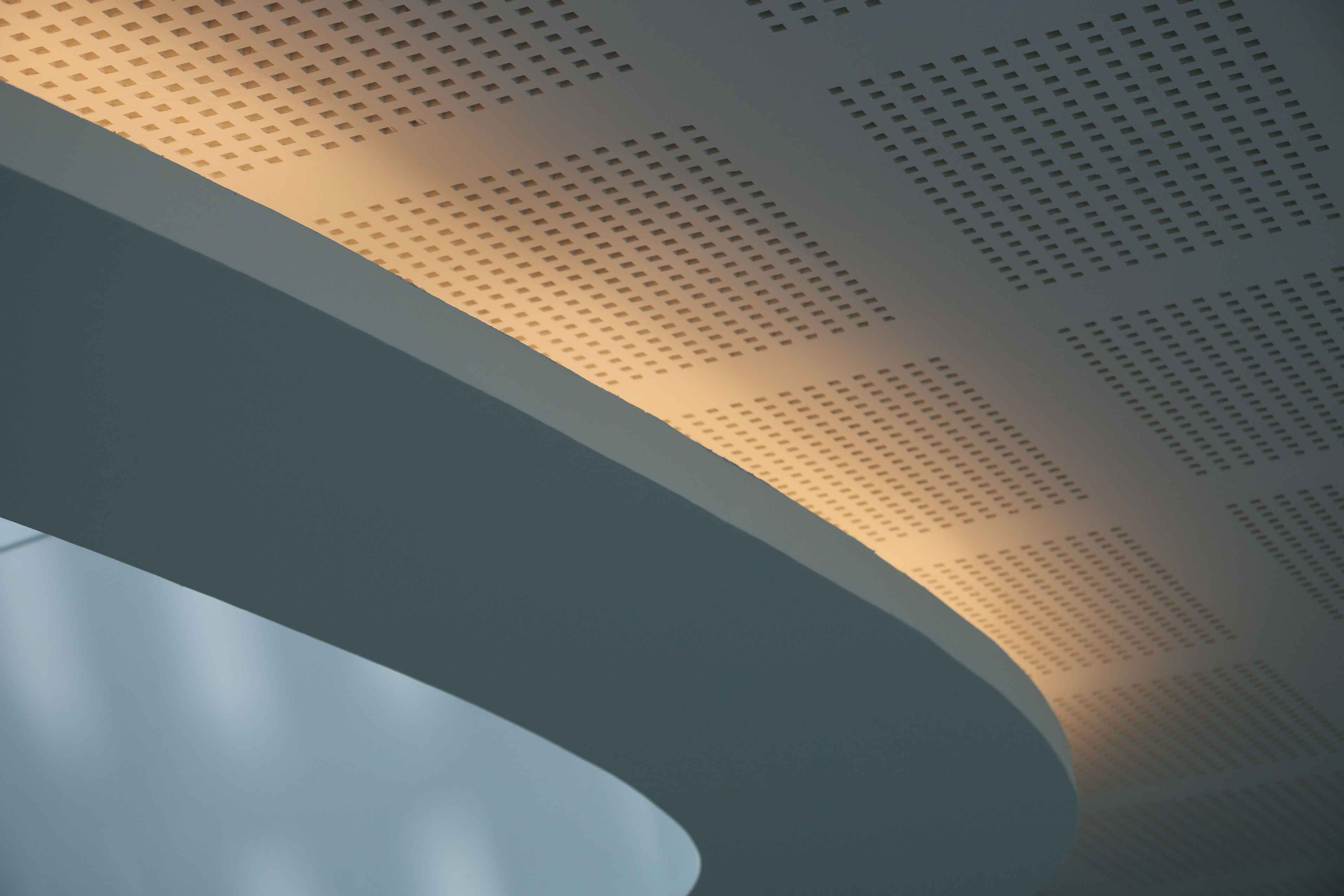 Zoom Gorge Lumineuse Silvae Plafonds Decoratifs Acoustiques Langlois Sobreti Idf 1326