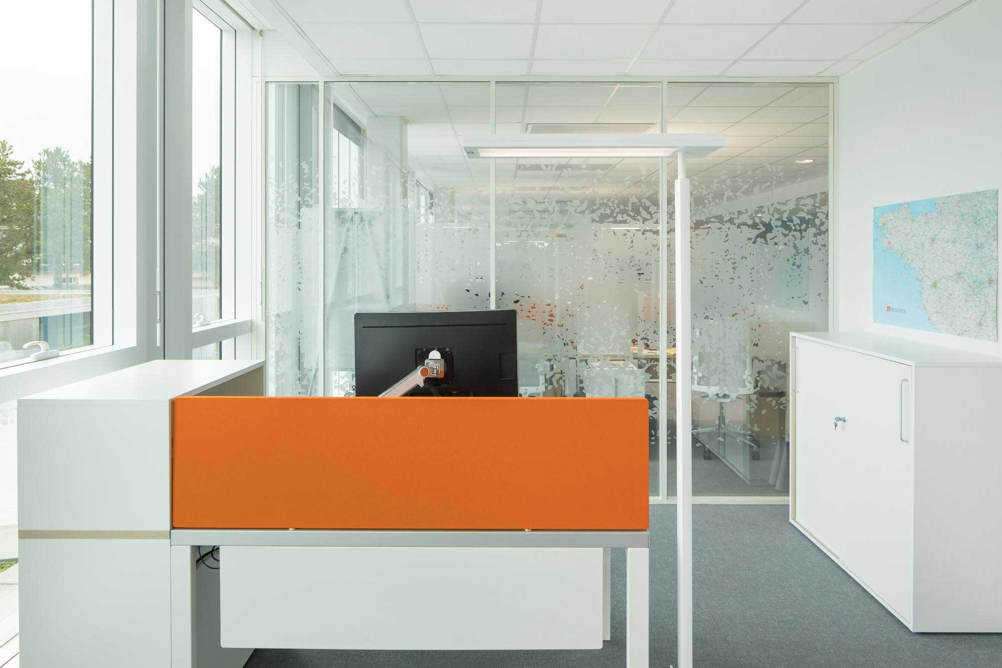 Langlois Sobreti Nantes Panneaux Acoustiques Caisse Epargne 44 Orvault Orange