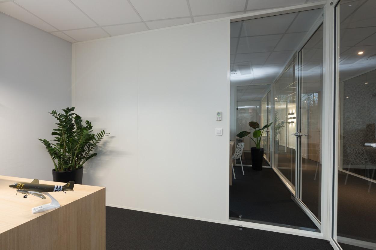 Ob Ingenierie Langlois Sobreti Rennes Amenagement Bureau Cloisons Pleines Bord Bord Cloisons Vitrees