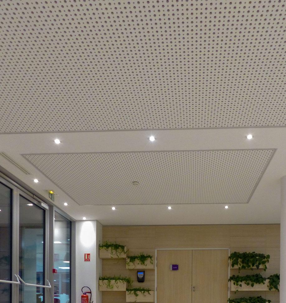 Solaris Plafonds Interieurs Plafond REGITONE Langlois Sobreti Idf