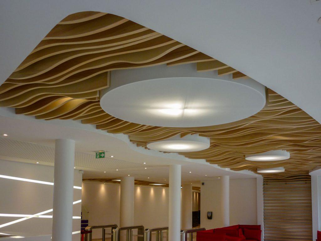 Solaris Plafonds Suspendus Interieurs Bois Paroi Boislanglois Sobreti Idf