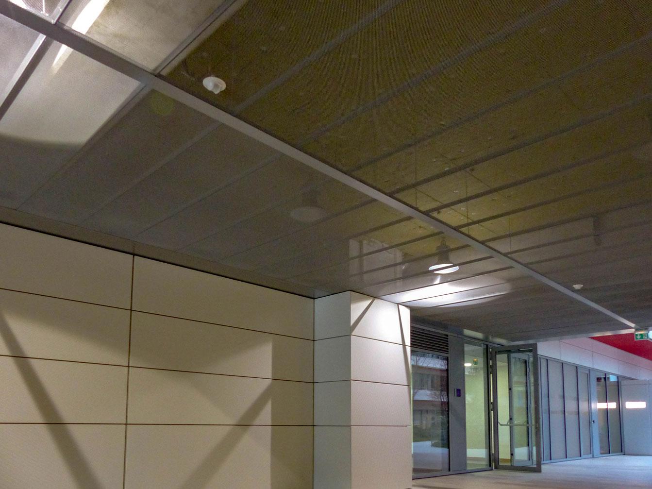 Solaris Plafonds Exterieurs Metal Déployé Langlois Sobreti Idf
