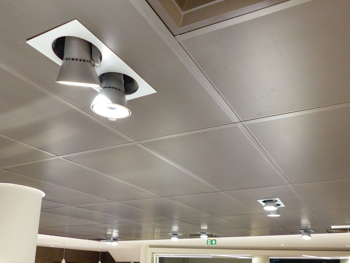 Solaris Plafonds Interieurs Bac Metallique Langlois Sobreti Idf