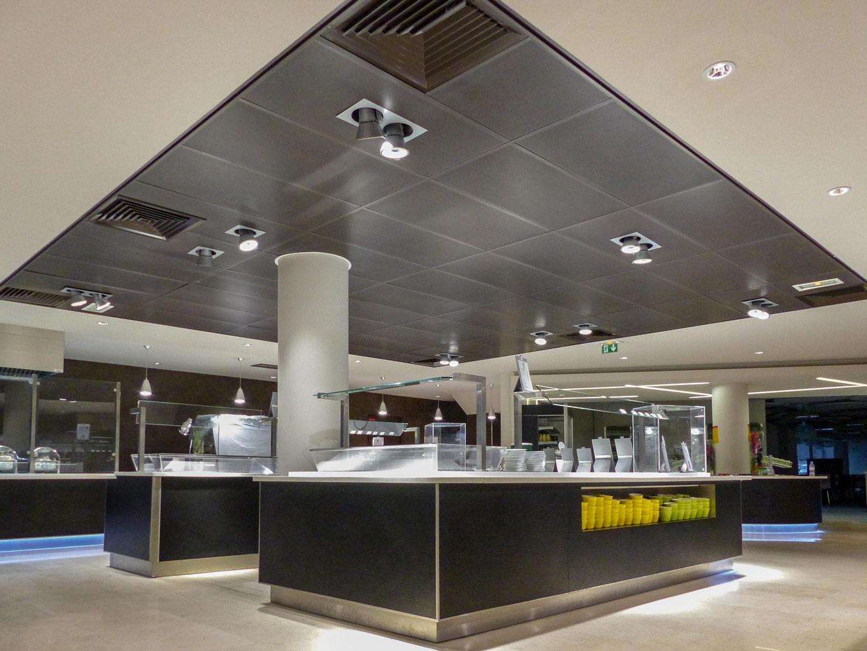 Solaris Plafonds Interieurs Bac Metallique Rie Langlois Sobreti Idf Bis