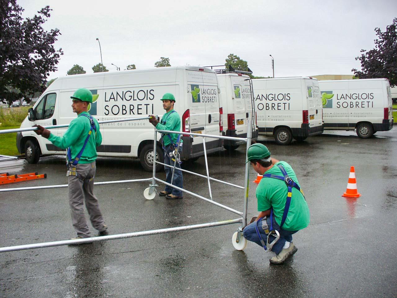 Formation - les moyens de Langlois Sobreti pour des équipes régulièrement formées