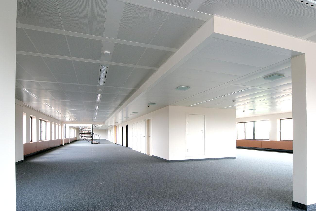 PSolution rayonnante - Plafond Rayonnant - 8380 Tervueren Plaza N- Flaktgroup & Langlois Sobreti