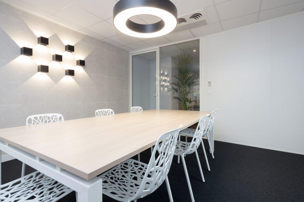 Langlois Sobreti Rennes Amenagement Bureau Ob Ingenierie Plafonds Suspendus Cloisons Pleines