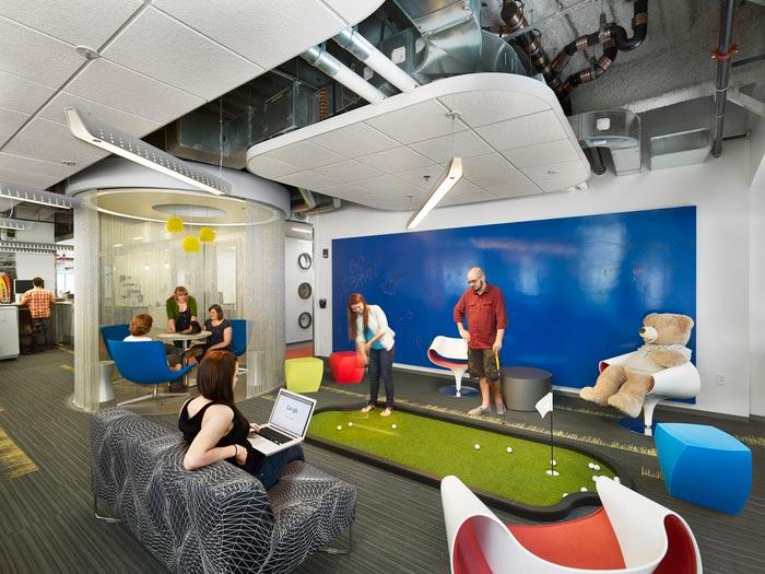 Google Boston Cambridge Office Design 1 700x525