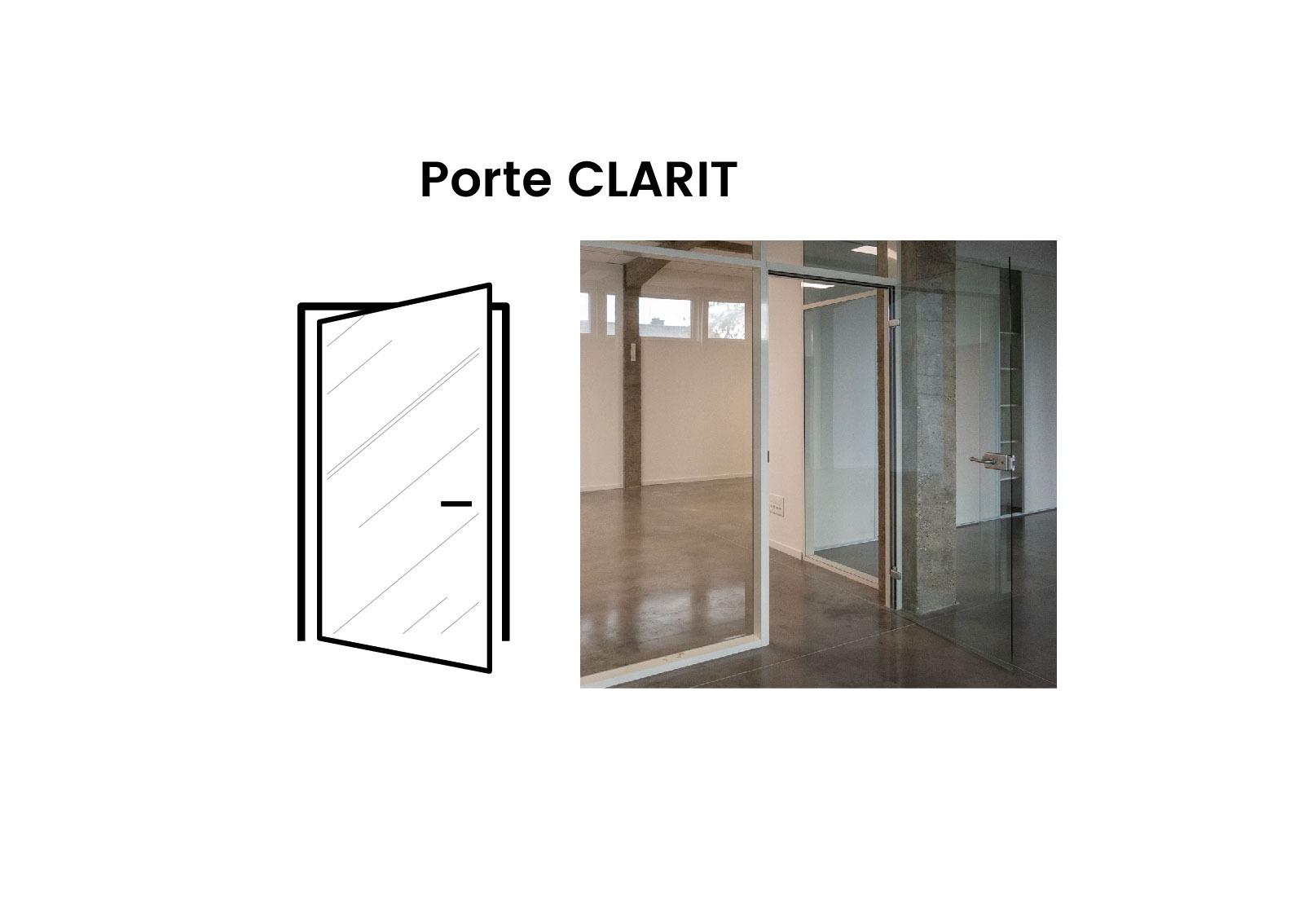 Porte Vitree Porte Clarit Langlois Sobreti
