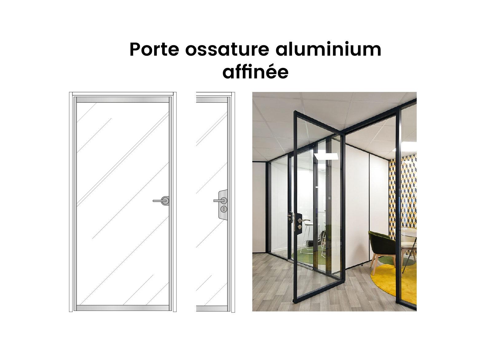 Porte Vitree Porte Ossature Aluminium Affinee Langlois Sobreti 04