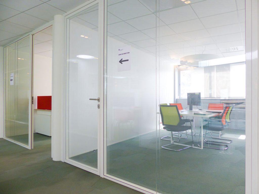Solutions barrières bureau : bureau de Langlois Sobreti
