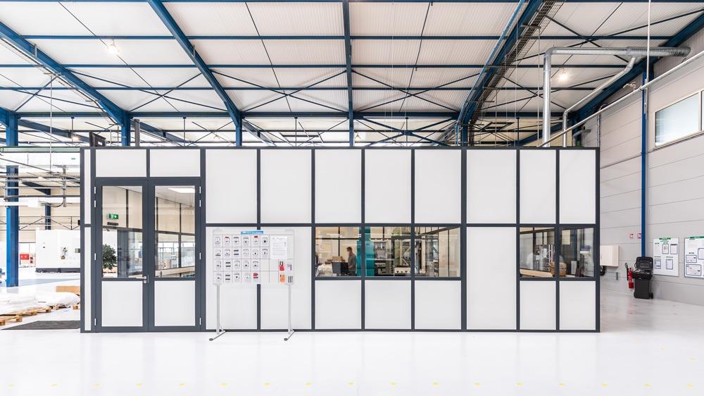 Cloison Industrielle Grande Hauteur Calip Nomandie Langlois Sobreti Bayeux