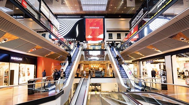 Centre Commerciaux Art Plafonds Suspendus Euralille Langlois Sobreti