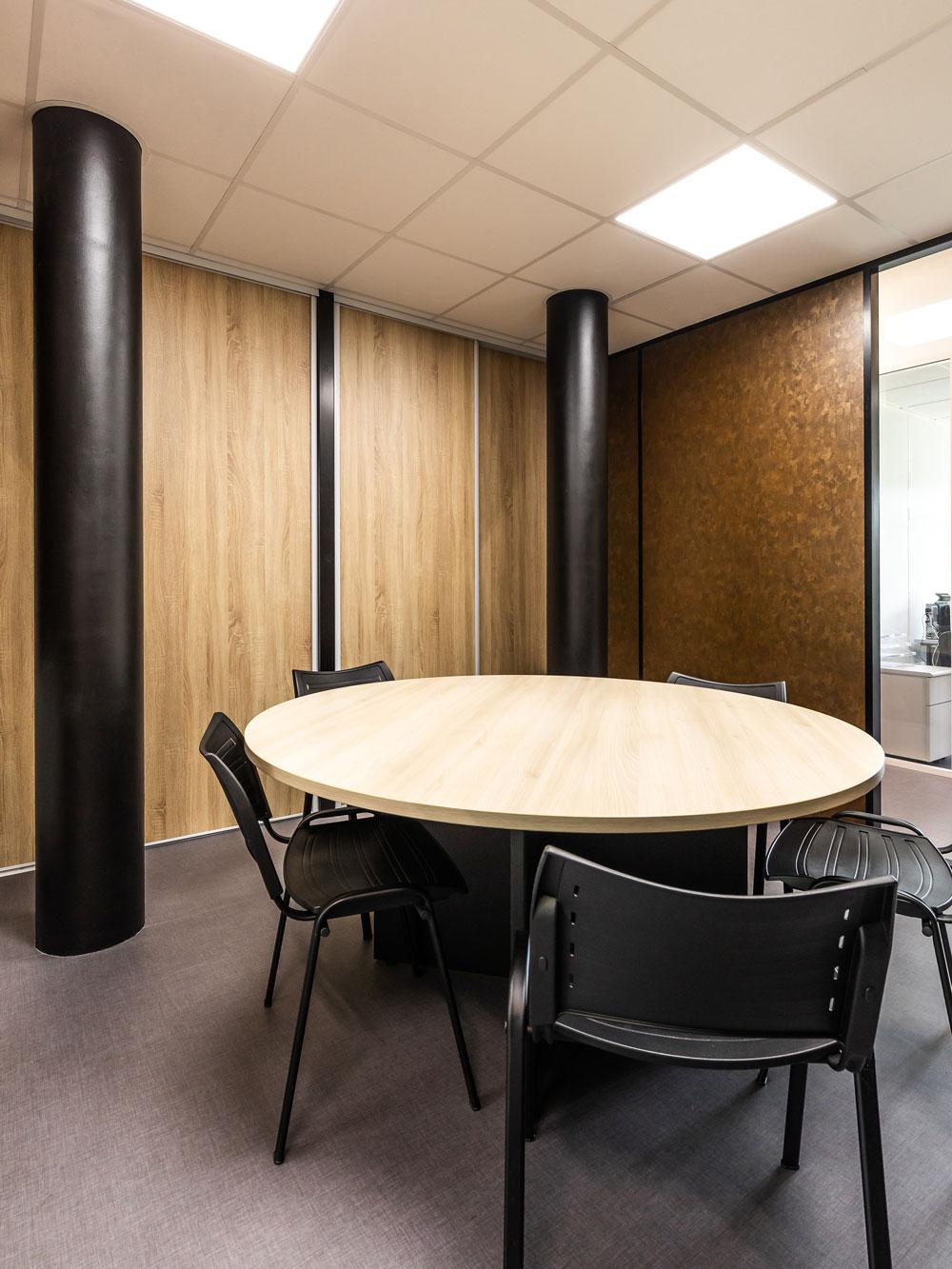 Cloison Aluminium Remplissage Soft Bronze Dore Box Group Fim Langlois Sobreti Bayeux