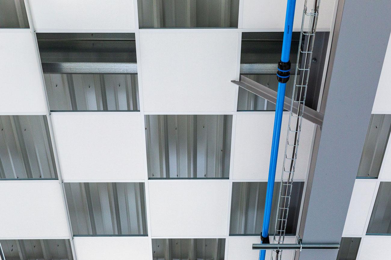 Plafond Industriel Ajoure Etpack Langlois Sobreti Quimper